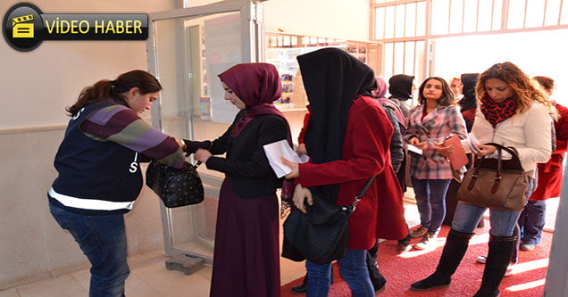 Siverek'te Güz Dönemi AÖF Sınavları Yapıldı