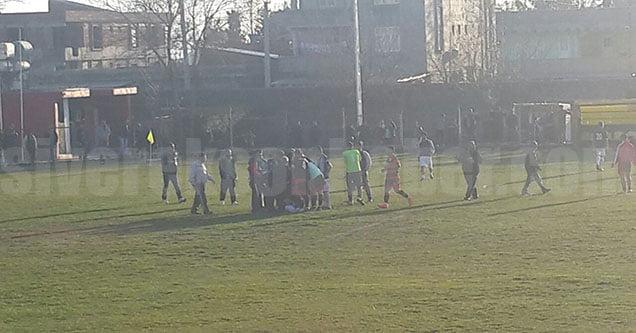 Hakemi Darp Eden 5 Futbolcu Gözaltına Alındı!