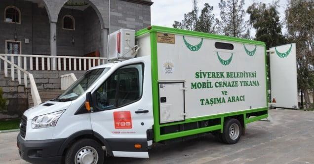 Mobil Cenaze Aracı Hizmete Girdi