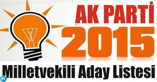 AK Parti Şanlıurfa Milletvekili Adayları Açıklandı