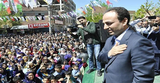 HDP Milletvekili Adayı Baydemir Siverek'te