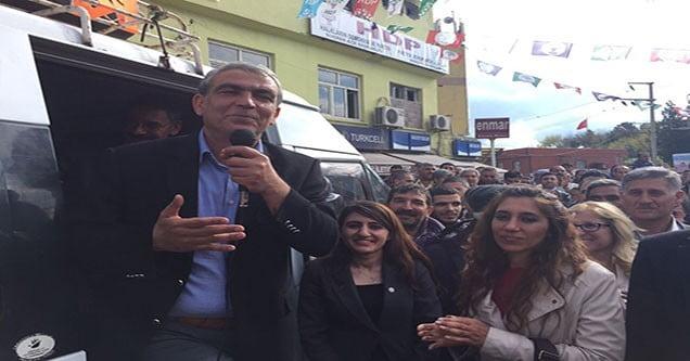 HDP Şanlıurfa Milletvekili Ayhan Siverek'te