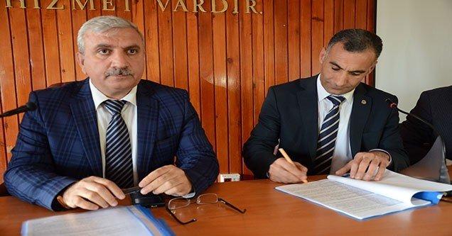 Siverek Belediyesinde Toplu İş Sözleşmesi Sevinci