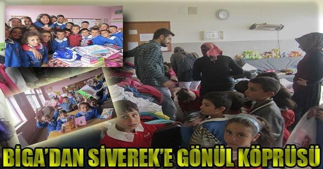 Siverek'te 'Orada Bir Köy Var Uzakta' Yardım Kampanyası