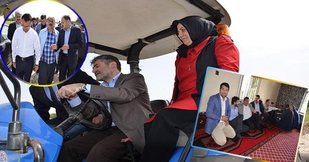 AK Parti Genel Başkan Yardımcısı Nurettin Nebati Siverek'te