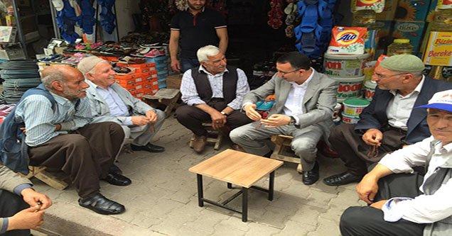 Belediye Başkanı Yılmaz Esnaf Ziyaretlerini Sürdürüyor