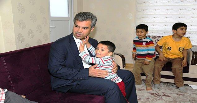 Kaymakam Erkal Çocuk Evlerini Ziyaret Etti