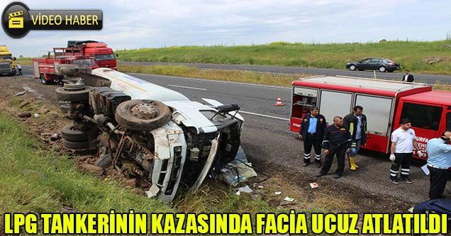 LPG Tankerinin Kazasında Facia Ucuz Atlatıldı