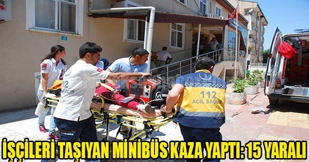 Hilvan-Bozova Yolunda Kaza: 15 Yaralı