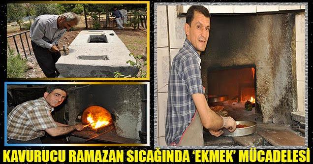Kavurucu Ramazan Sıcağında 'Ekmek' Mücadelesi