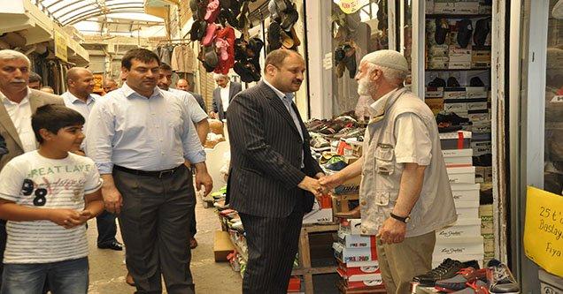 Milletvekili Mehmet Kasım Gülpınar'dan Esnaf Ziyareti