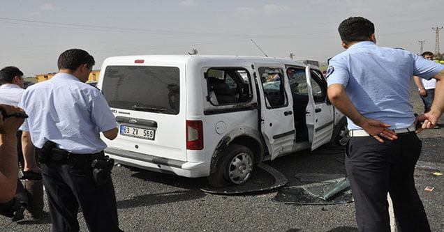Polis Aracı Devrildi: 2 Yaralı