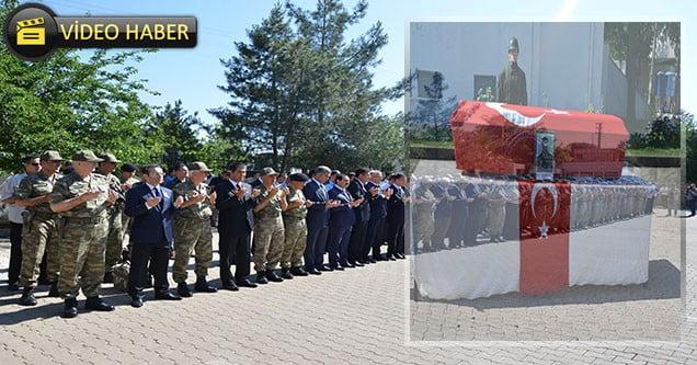 Şehit Uzman Çavuş Tayfun Meşe Törenle Memleketine Gönderildi