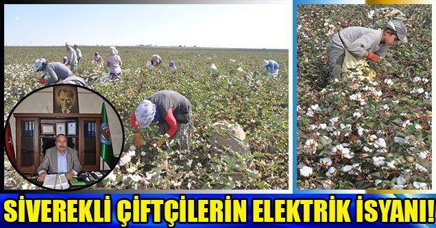 Siverekli Çiftçilerin Elektrik İsyanı!