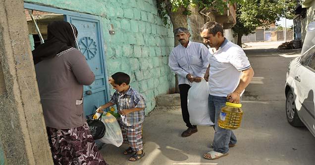 Siverek'te İhtiyaç Sahibi Ailelere Yardım