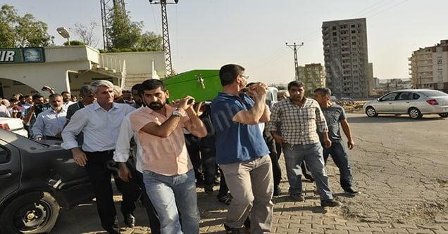 Adana'da öldürülen Ethem Türkben'in cenazesi Siverek'e getirildi