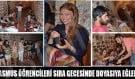 Erasmus öğrencileri sıra gecesine katıldı