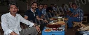 MHP Siverek'ten Basın Mensuplarına İftar Yemeği