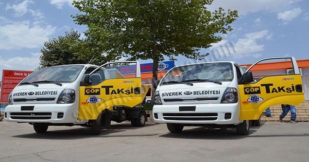 Siverek Belediyesinde 'Çöp Taksi' dönemi