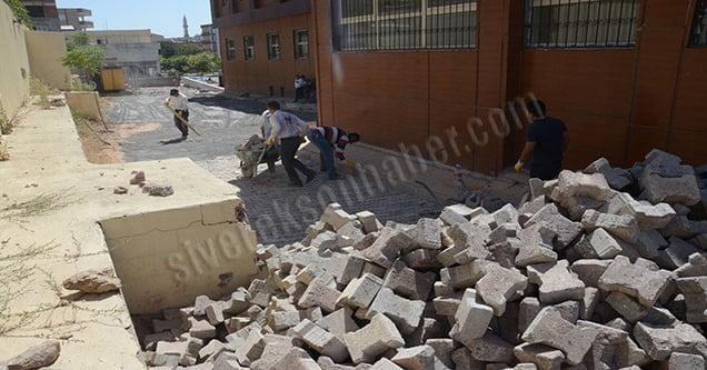 Siverek Belediyesinden Çevre Düzenleme Çalışmaları