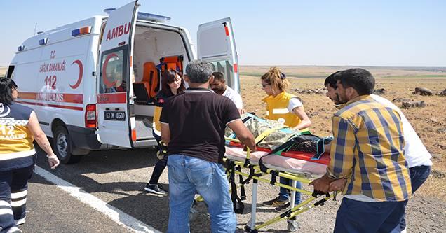Siverek-Feribot Yolunda Trafik Kazası: 4 Yaralı