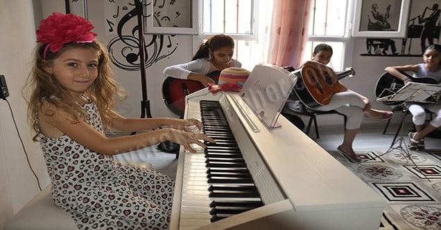 Siverekli çocukların müzik sevgisi