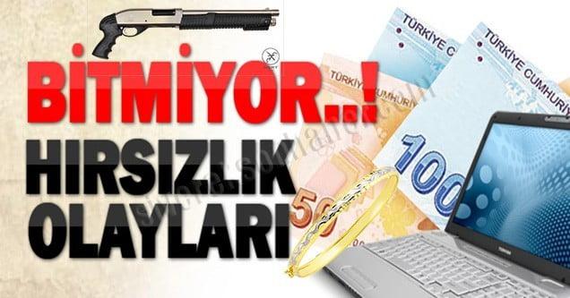Siverek'te hırsızlık olayları bitmek bilmiyor!