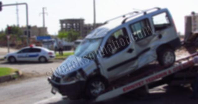 Siverek'te Trafik Kazası: 1 Ağır Yaralı