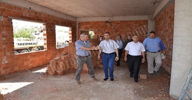 Yenişehir Taziye Evinde çalışmalar sürüyor