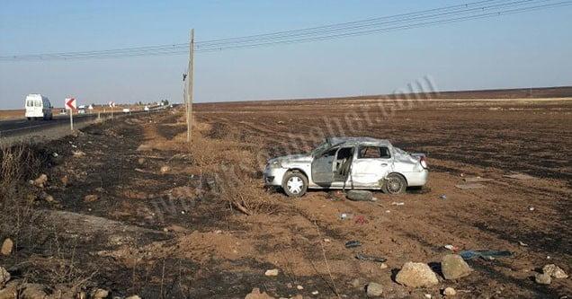 Siverek-Hilvan Yolunda Kaza: 1'i Ağır 4 Yaralı