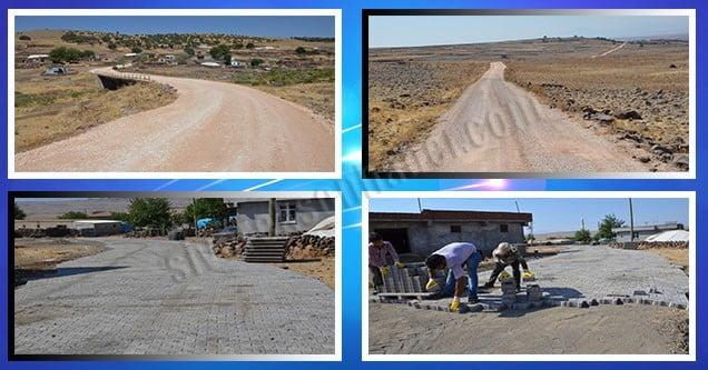 Kırsal mahalle yolları tamamlanıyor