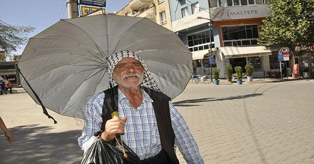 Siverek'te sıcak havalar etkili olmaya devam ediyor