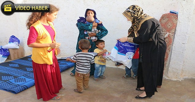 Akçakale Belediyesi Yetim Ve Öksüz Çocukları Unutmadı