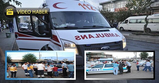 Ambulans kaza yaptı, hasta sivil araçla nakledildi!