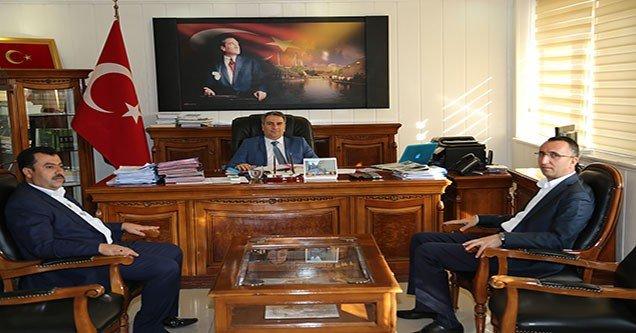 Belediye Başkanı Yılmaz'dan Kaymakam Karagül'e ziyaret