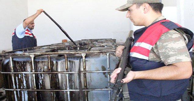 Ham petrol hırsızlığı: 8 gözaltı