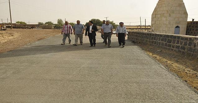 Kırsal mahalleler Siverek Belediyesi'yle kalkınıyor