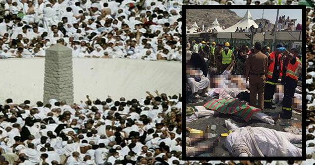 Mina'da facia: 220 hacı hayatını kaybetti