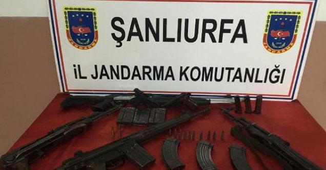 Silah kaçaklığı operasyonunda 4 kişi gözaltına alındı