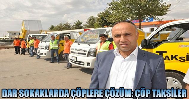 Siverek'te Çöp Taksi sayısı arttırıldı