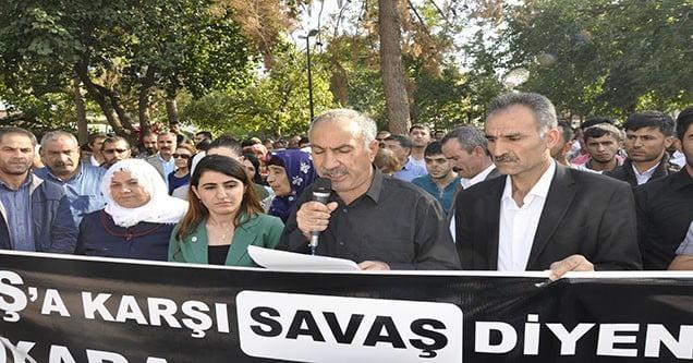 Ankara'daki patlama Siverek'te kınandı
