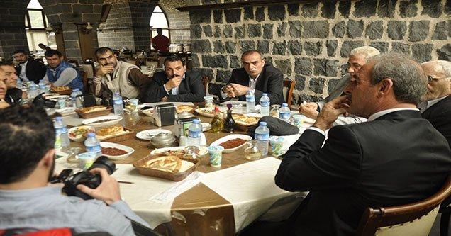 CHP Şanlıurfa Milletvekili Adayı Sağır, basınla bir araya geldi