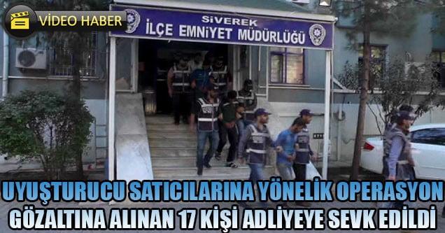 Gözaltına alınan 17 kişi adliyeye sevk edildi