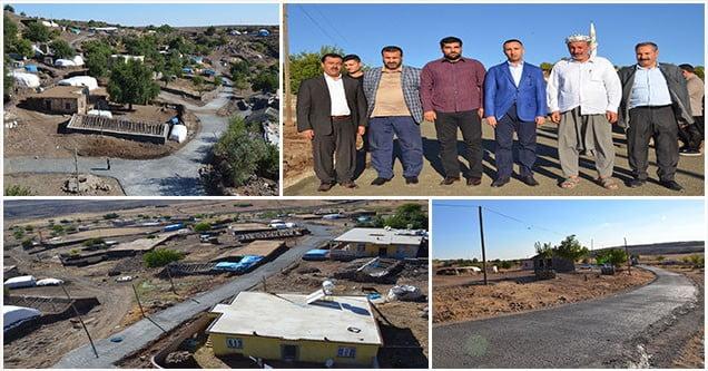 Kırsal mahalleleri kalkındırma atağı sürüyor
