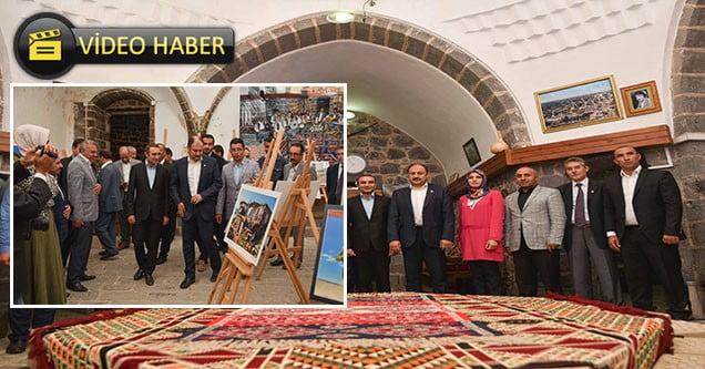 Milletvekili Gülpınar, SİVSAD sergisini gezdi
