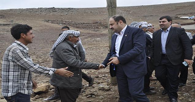 Milletvekili Mehmet Kasım Gülpınar'a destek her geçen gün artıyor