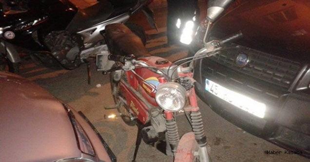 Motosiklet hırsızı motosikletle yakalandı