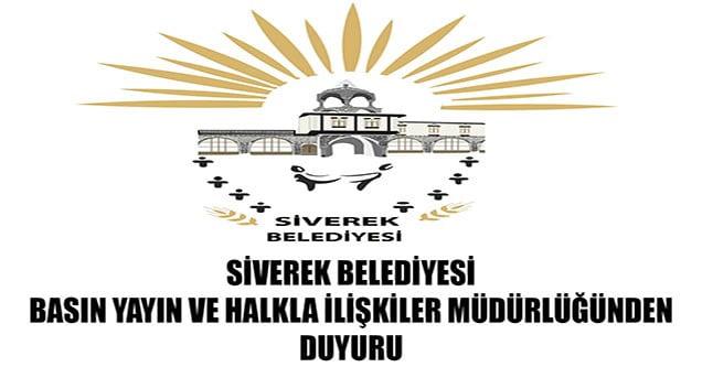 Siverek Belediyesi dolandırıcılara karşı uyardı!
