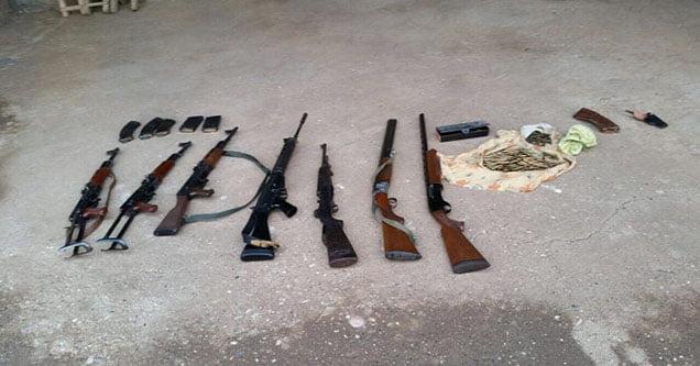 Siverek kırsalında silah kaçakçılarına operasyon