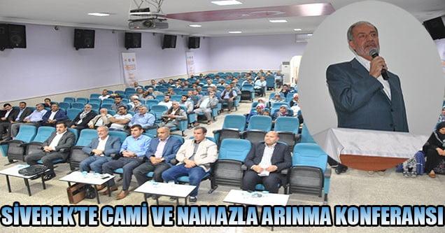 Siverek'te Cami ve Namazla Arınma Konferansı